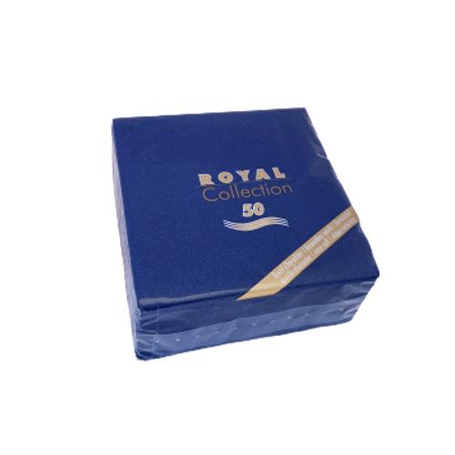 Servilleta de papel pequeña azul oscuro 25 x 25 cm. (20 uds.)