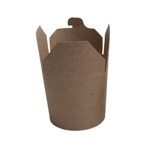 50 Envases Wok 789 ml. Kraft