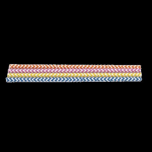 Pajitas multicolor 48 uds