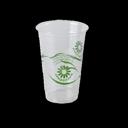 Vasos biodegradables para chiringuitos