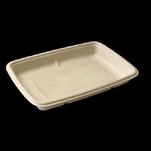 Envase rectangular 600 ml.