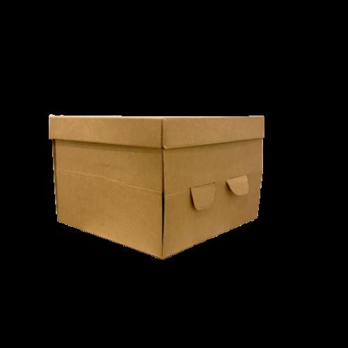 Caja portatartas biodegradable