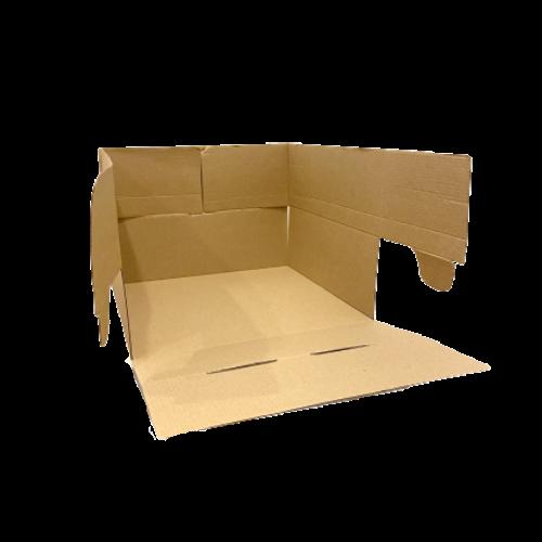 Envase de cartón para tartas