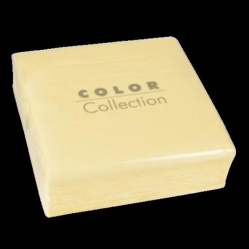 Servilleta eco color crema 33 x 33 cm. (100 uds.)