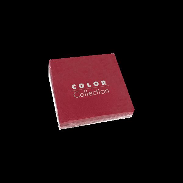 servilleta para eventos fiestas color burdeos