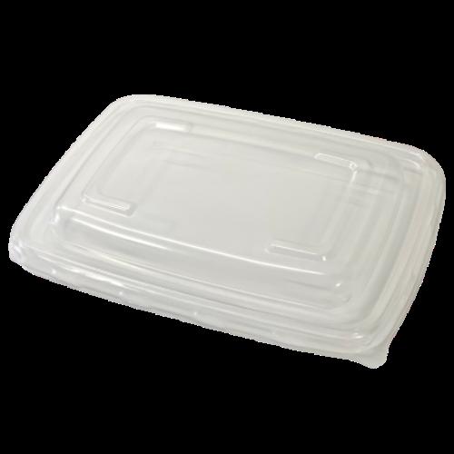 Tapa rPET envases rectangular