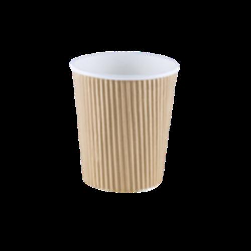Vasos Kraft Corrugado de 12 oz
