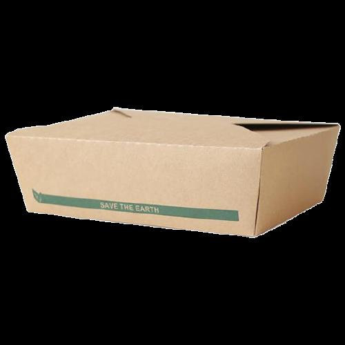 Caja de Cartón Kraft mediana 21,2 x 16,2mm. Altura 5 cm. (50 uds.)