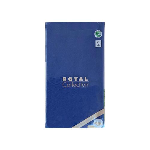 Mantel de Papel Azul Oscuro 180x120 cm.