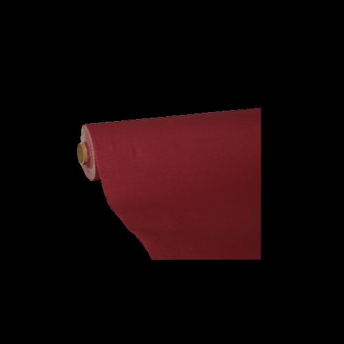 Mantel de Papel Color Burdeos 25 x 1,18 m.