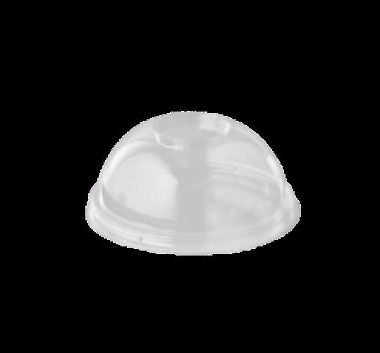 Tapa PLA con forma de Cúpula para vaso Smoothie o Zumo 12/16 oz. (100 uds.)