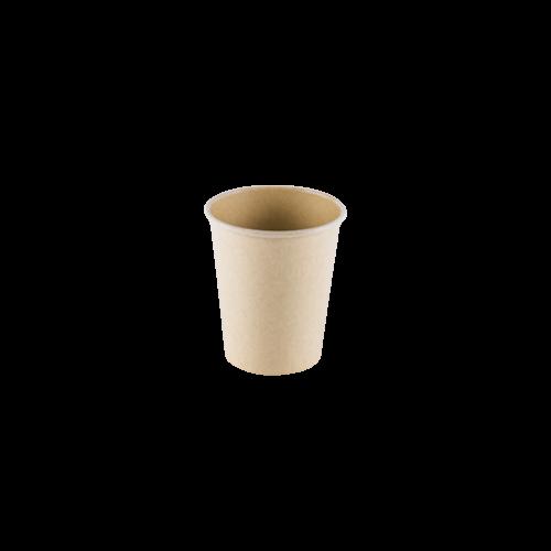 Vaso Cartón Kraft Claro 6oz. Café cortado (50 uds.)